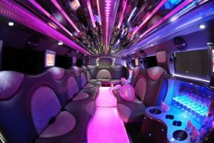 pink hummers tampa limo