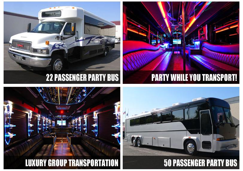 party bus Lutz