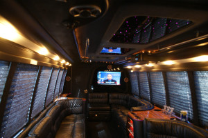 Tampa Party Bus Interior