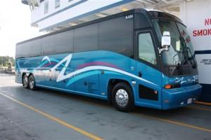45 Passenger Charter Bus