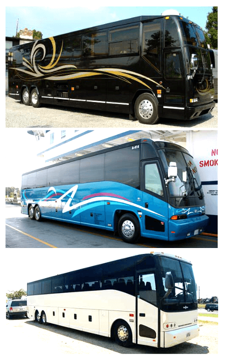 Charter Bus St Petersburg FL